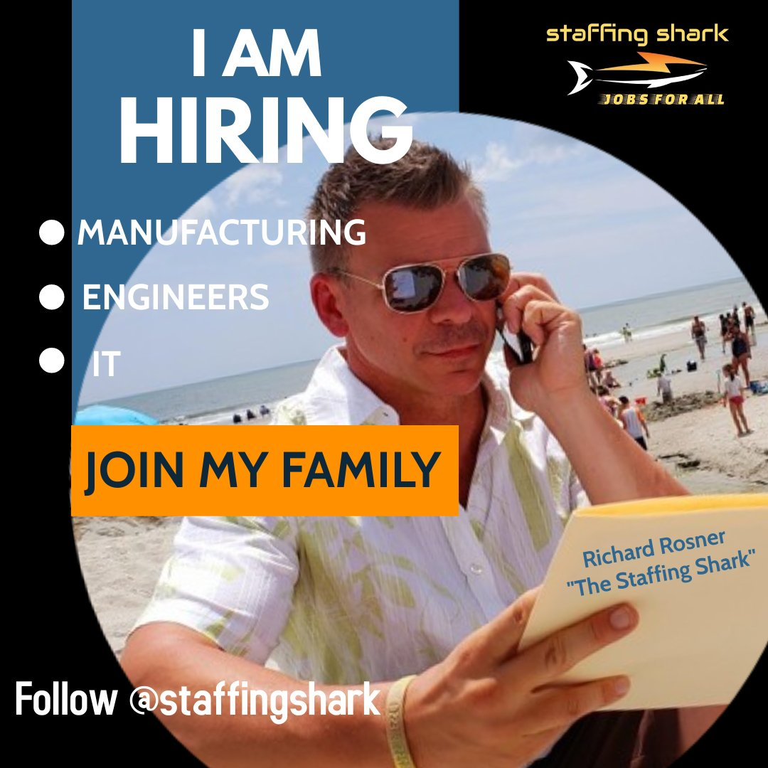 """I'm always on the HUNT for the NEXT JOB OPPORTUNITY!! """"JOBS ACROSS AMERICA 🇺🇸 IS LOOKING FOR YOU!!! #America #AmericaFirst #staffing #staffingfirms @GabbyVanAlstine #HR  @DeanKulaweera #tuesdayvibe #Job #Employment #jobseekers @garyvee @SIAnalysts @erecruit @sbrownehr #recruiters"""