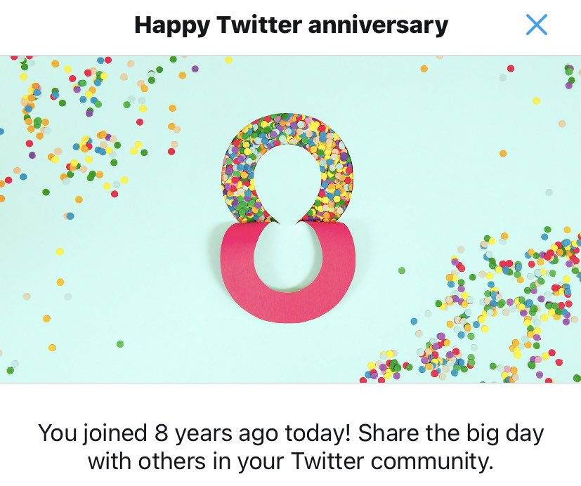 #8yearsOfTwitter makes me think of all the beautiful #moments #Learnings #people & #interactions I've had to grow my twitter family wch has slowly & subtly become part of me.#Gratitude to each one of you as I celebrate my #twitteranniversary 😊🙏