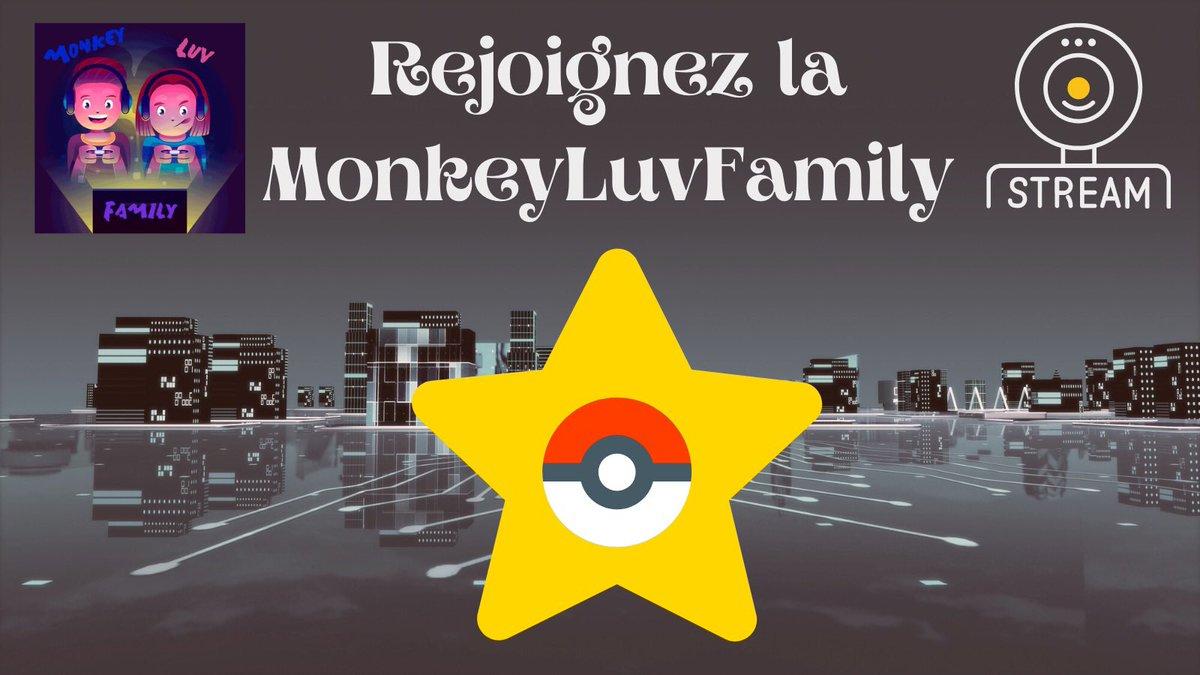 ✨C'EST L'HEURE DU LIVE✨  Monkey repart à l'aventure sur #PokemonRougeFeu avec toute #LaFamille ✨🔥  Rejoignez le stream dès maintenant 👇🏻    #Pokemon #Pokemon25 #Stream #TwitchStreamers