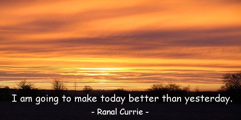 Each new day is a fresh start.  #inspiration #gratitude