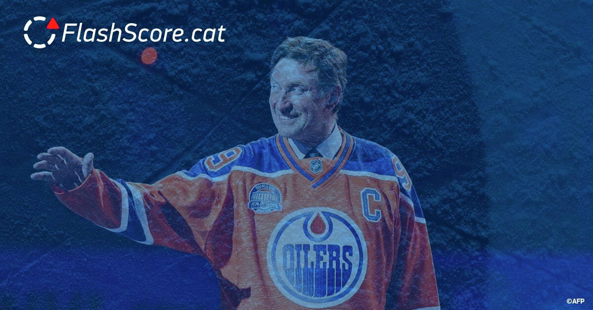 La llegenda de l'hoquei sobre gel @WayneGretzky fa avui 60 anys! Moltes felicitats!  🥳  🥳   #FelizCumple #Felicitats #Felicidades #HappyBirthday #HappyBirthdayWayneGretzky #WayneGretzky #Gretzky