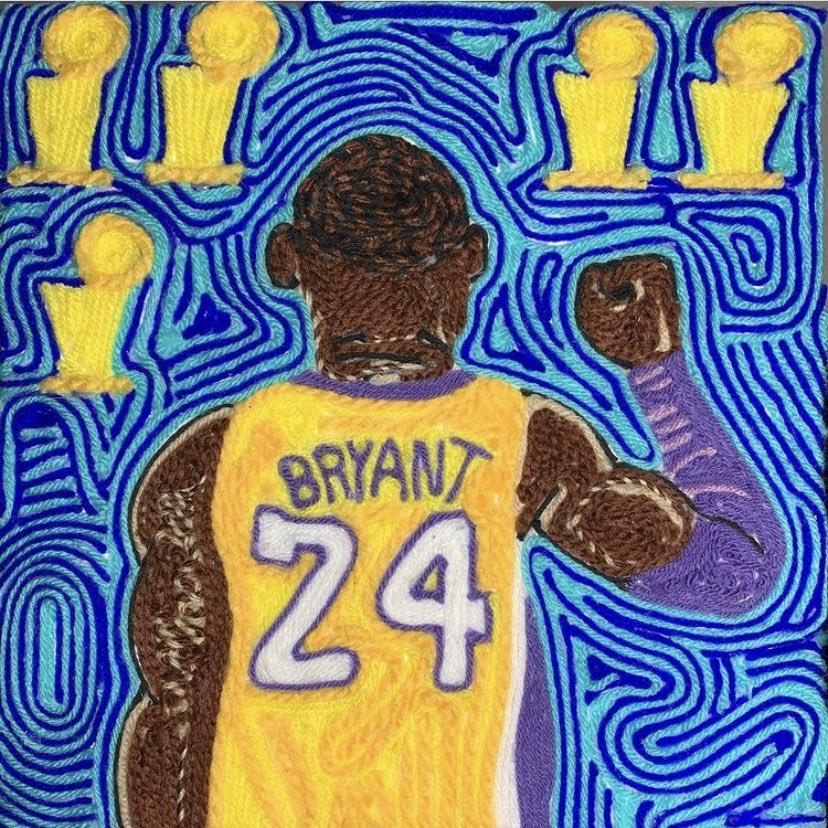 Rest In Peace Kobe #legend 🐍🖤💜💛