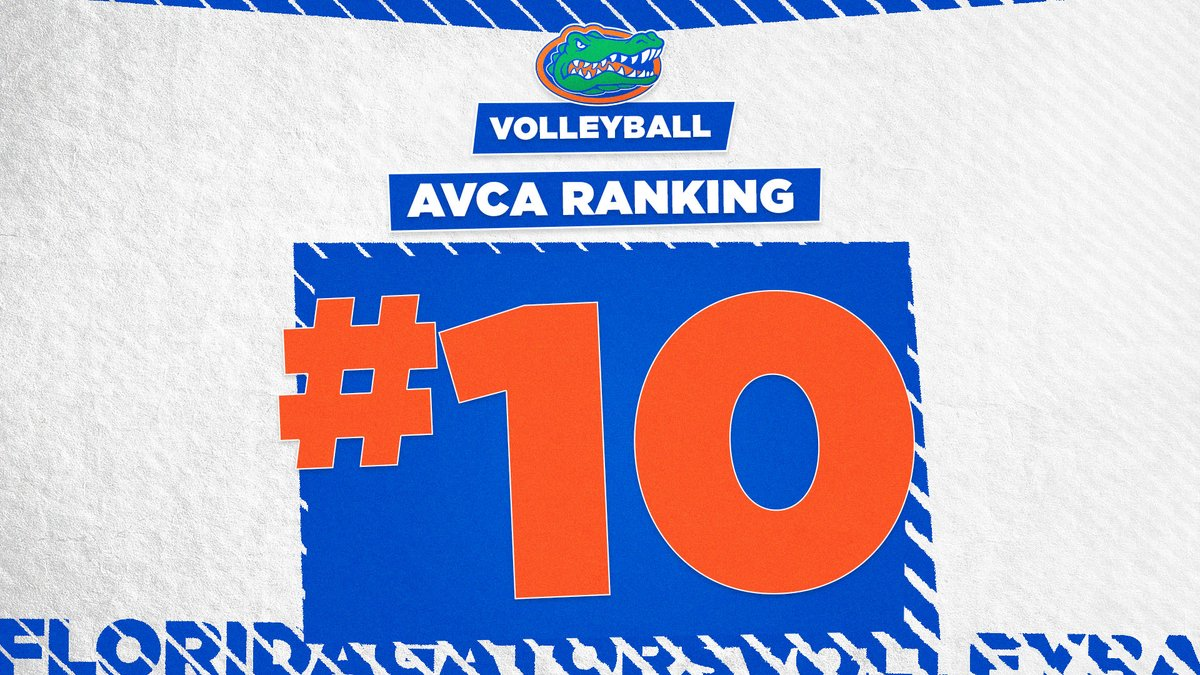 Moving on 🆙 in this week's @AVCAVolleyball poll!   #GoGators