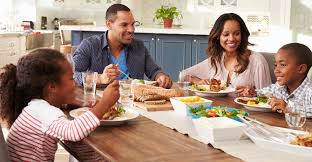 Make meal time, quality family time.  According to a study published in JAMA, families who eat together generally consume healthier diets, including more fruits and veggies, and less fast and takeout food.     #HealthyLiving #lifestyle #FamilyTime #health