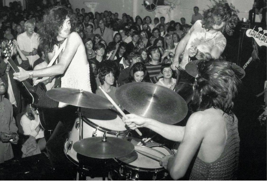 That's the Tea (Tea Party Concerts, precursor to @XRPresents) January 1969. 📸: @JimmyPage @ledzeppelin #boston #concert #bostonma #crossroadspresents #teapartyconcerts #donlaw #legend #rockandroll