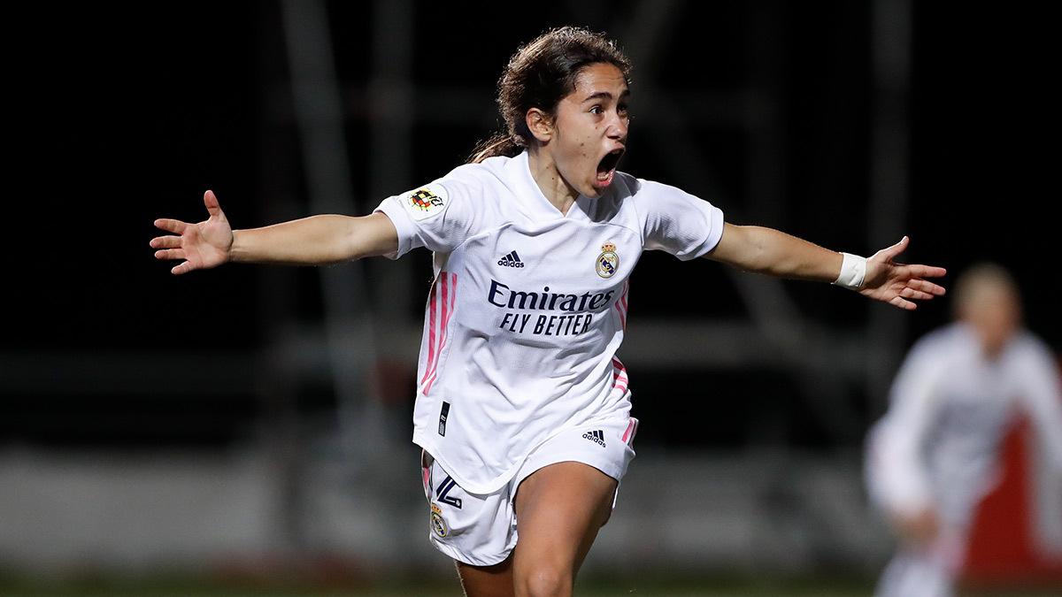 ⚽🤔 ¿Qué se siente al marcar el gol de la victoria en la última jugada? 👇 ¡ESTO! 👇 💥 @lorcapucca  #RealMadrid | #HalaMadrid