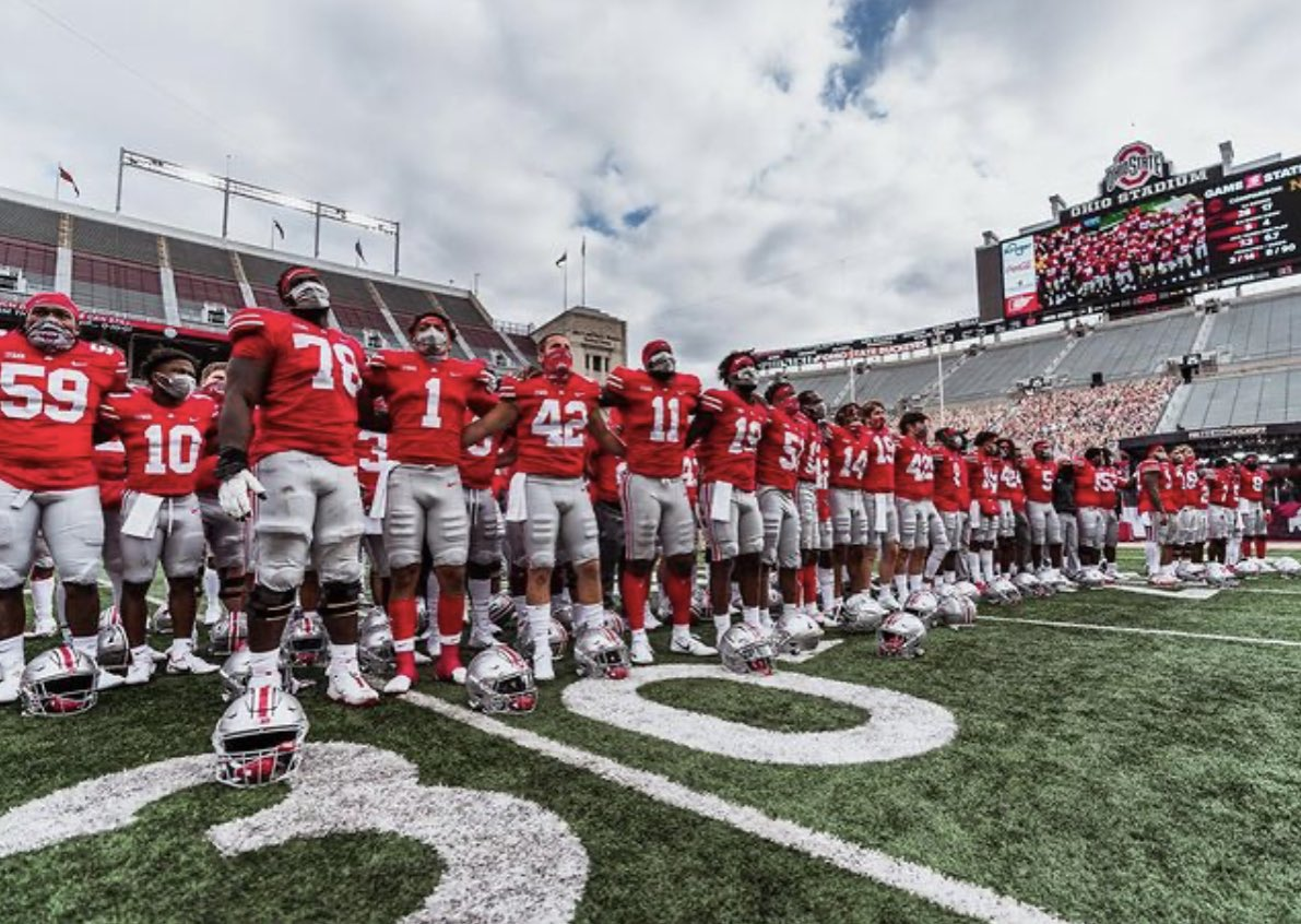Can't wait till next season. Hopefully I'm on the sidelines with y'all. Cause we got some unfinished business to take care of. #GoBuckeyes #RunMeMyMoney @OhioStateFB
