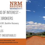 Seeking EOIs for PT knowledge broker roles with NRM Regions Australia (carbon farming & ERF, bushfire recovery, landscape resilience). Ideally Canberra-based but location  negotiable. Visit https://t.co/w6z8kx2quH for more information and to download submission guidelines.