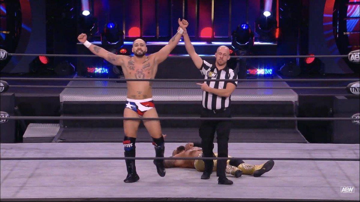 #AEWDark | ¡Danny LimeLight derrota a Sean Maluta y consigue una nueva victoria en Dark!