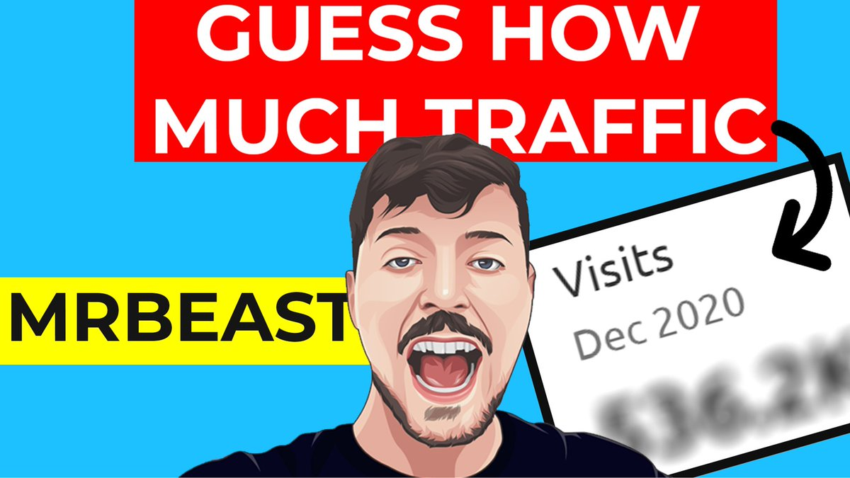 WE CAN'T BELIEVE @MrBeastYT #MERCH #STORE GOT THIS MUCH TRAFFIC.  Find out how much traffic #MrBeast got in our #youtube #video -   Create your #website for $2.59/month -   #Support our #work on #Patreon -