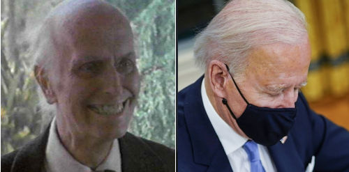 Now we know why Joe wears the mask. At least you don't have to run into this in the middle of the night. #QCongress #ImpeachAndConvict #JoeBiden #CreepyJoeBiden #DementiaJoe #scarymovie #HorrorMovies