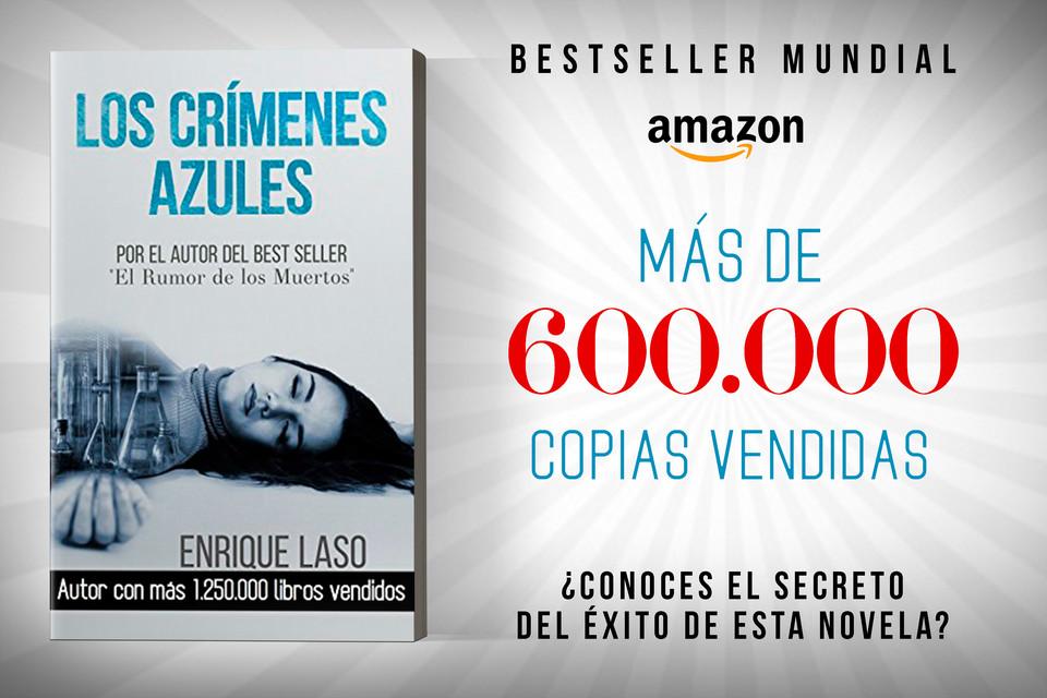 ✅Éxito mundial en castellano, francés, inglés e italiano           ✅Nº1 general en #Amazon y #kobo 🇪🇸🇫🇷🇮🇹 #BestSeller 🔝 #Kindle ¿Conoces ya el misterio que ocultan estos crímenes?  HOY $2.99 ▶️   @enriquelaso @merylaso