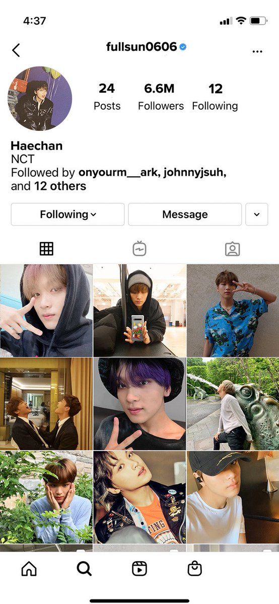 RT @LOOKSLHC: if haechan had an instagram https://t.co/GtALSqNfJE