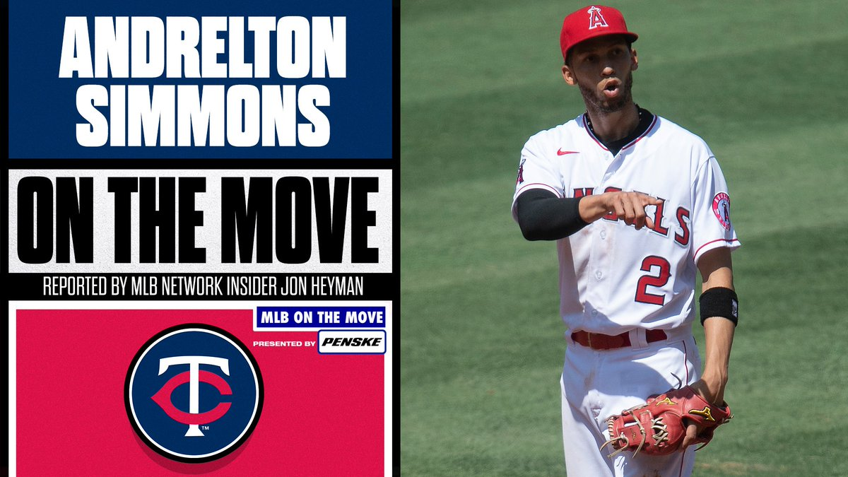 There's a new shortstop in Minnesota.  SS Andrelton Simmons is reportedly signing with the @Twins, per @JonHeyman.
