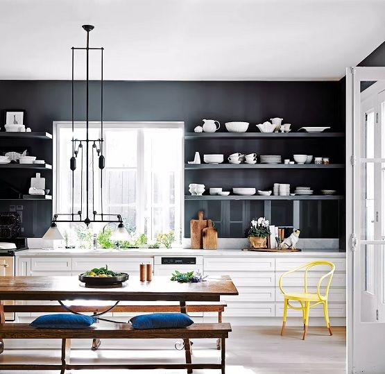 Kitchen Shelving to Boost Storage & Display Space  a great option for #homeowners #RealEstate #property #renovation #homes #condos #lifestyle #investment.
