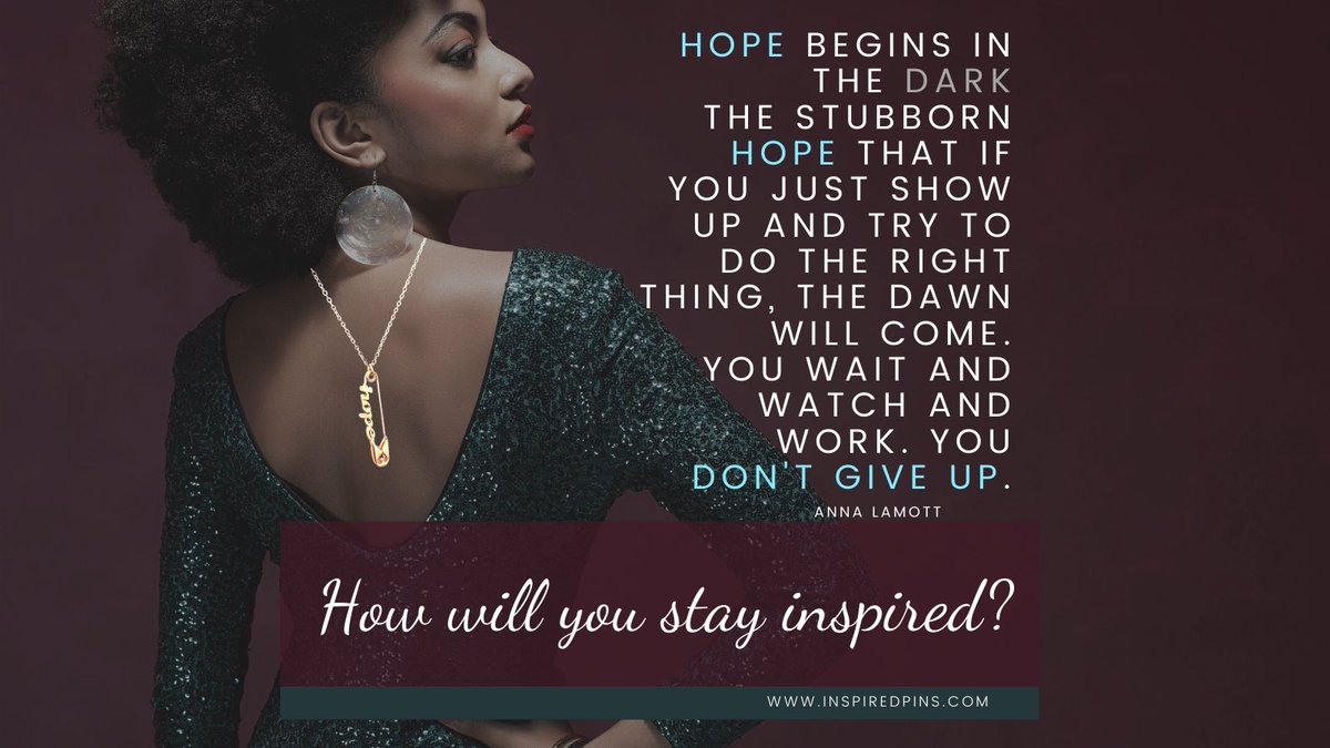 Hope can transform your life and change the world. Do you dare to hope? Get your wearable reminder on our website ✨     #hope #InspiredPins #InspireChange