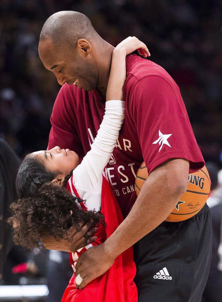 RIP Kobe and Gigi Bryant #MambaForever 💜💛