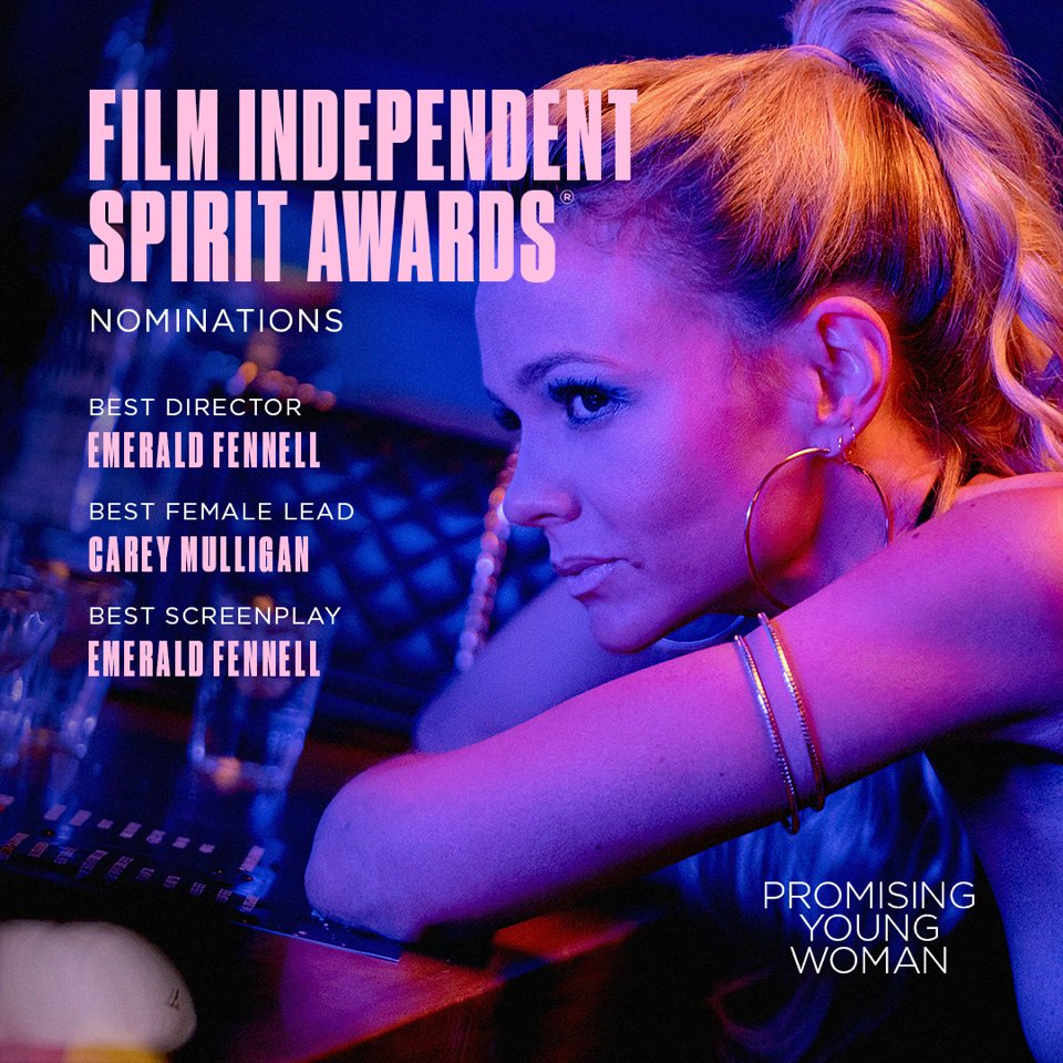 Cool! And congrats ladies!!! @PromisingFilm @FocusFeatures #PromisingYoungWoman
