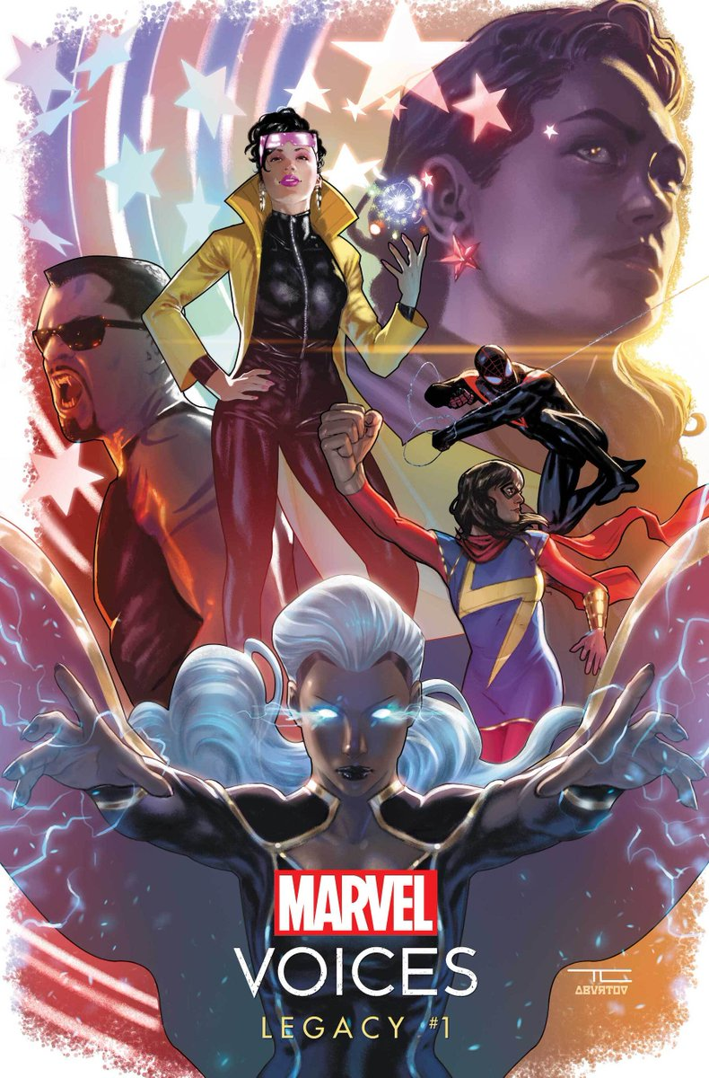 "This February, ""Marvel's Voices: Legacy"" #1 will bring you seven thrilling tales featuring Miles Morales, Storm, Monica Rambeau, Blade, and more! Get the details:"
