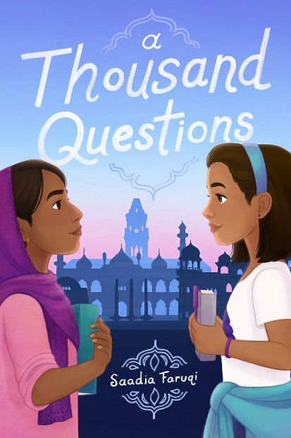 Have you read my interview with @SaadiaFaruqi about her new #mglit novel A THOUSAND QUESTION yet? Dont miss the #giveaway: bit.ly/3c4fqQE #mg #mggiveaway