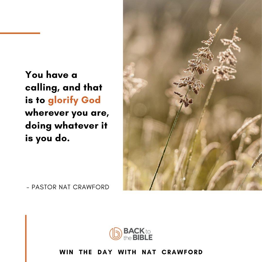 📖 Don't miss today's Win The Day with pastor Nat Crawford, link in bio, or below, or via your goTandem app:   #wintheday #winthedayspiritually #bible #biblestudy #faith #devotion #gotandem #dailybibleteaching #Yourcallinginlife #glorifyGodinallyoudo