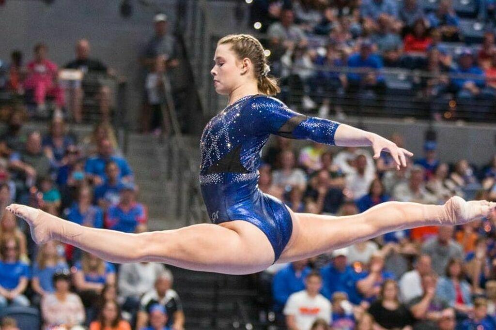 #Gators  Gators gymnasts continue cruise as No. 1 through turbulent 2021