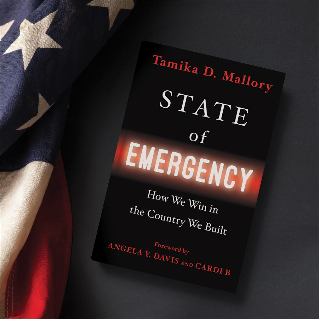 #StateofEmergency by @TamikaDMallory goes on sale 5/11 under @cthagod's new imprint #BlackPrivilegePublishing. This is an unflinching history of systemic racism, what makes for effective activism and a vision for lasting, positive change. Pre-order here: