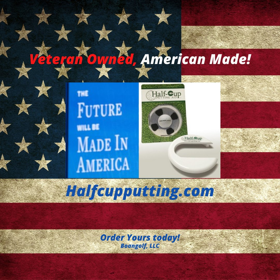 MADE IN THE USA!  Order your Half-Cup Putting Aid today, $12.99 plus S&H.  visit:   practice small, PLAY BIG! #golfputting #golfpractice #Golf #Golftips #Golfcoach #golfaddict  #golflessons #golfinstruction #Golfing #Golfers #lovegolf #golfpro  #madeinusa