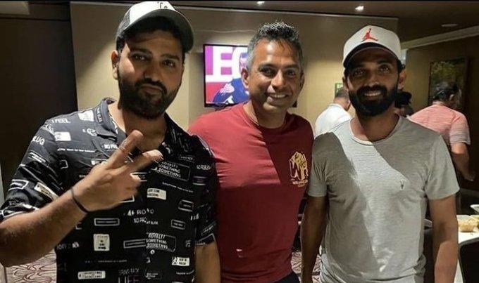 IND vs ENG: Rohit Sharma, Ajinkya Rahane Arrive in Chennai For India vs England 1st Test Photo