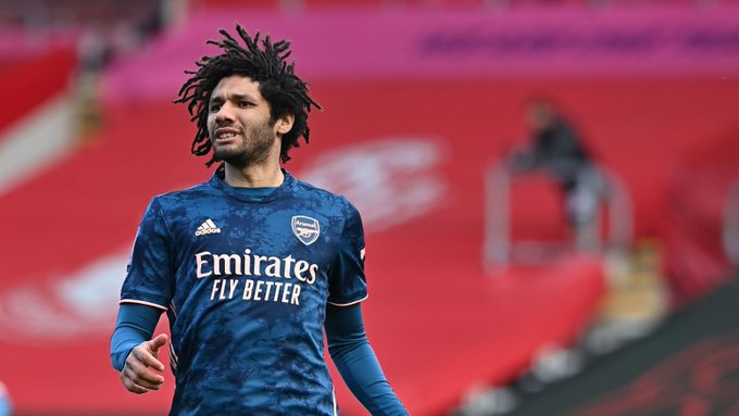 Mohamed Elneny in action against Southampton