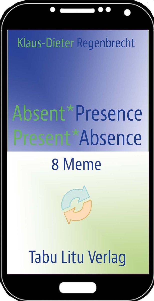 """""""Absent*Presence/Present*Absence"""" – ein #Theaterstück in 8 Memen #Memes  für 8 Darsteller, #smartphone 1 bis Smartphone 7 (SP1-SP7), und Alextra, die Computerstimme. In acht Memen: Messaging, #darkness, #Silence, Messaging, Darkness, #chat #show , Darkness*Silence und #Void cool."""
