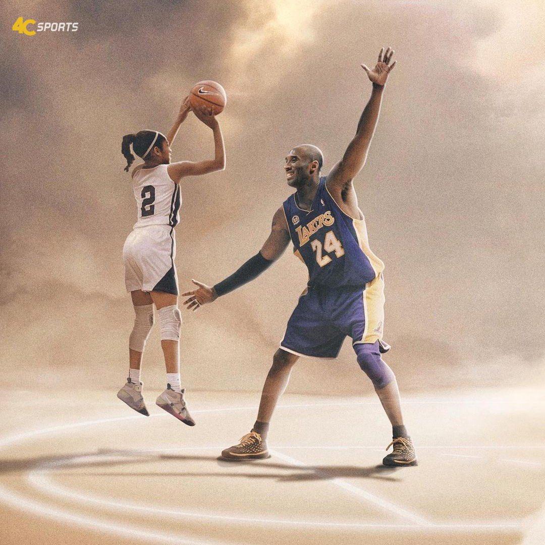 Un año sin Kobe y Gianna Bryant😇🏀  #MambaForever💜💛