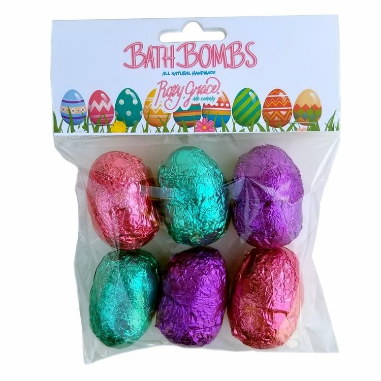=Roxy Grace Easter Egg Mini Bath Bombs - 6 pack= =This Easter Season Nourish Your Skin from Rich and Wanda's World=  #fashion #style #clothing #accessories #women #girl #beauty #trend #makeup #cosmetics #hair #eyes #nails #skin