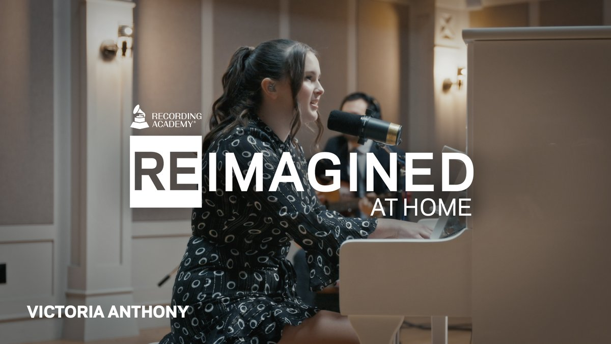 "#ReImagined At Home 🎵 Canadian singer/songwriter and pianist Victoria Anthony (@vicanthonymusic) offers a transfixing, piano-led version of #TaylorSwift's classic single, ""Blank Space"" ➡️"