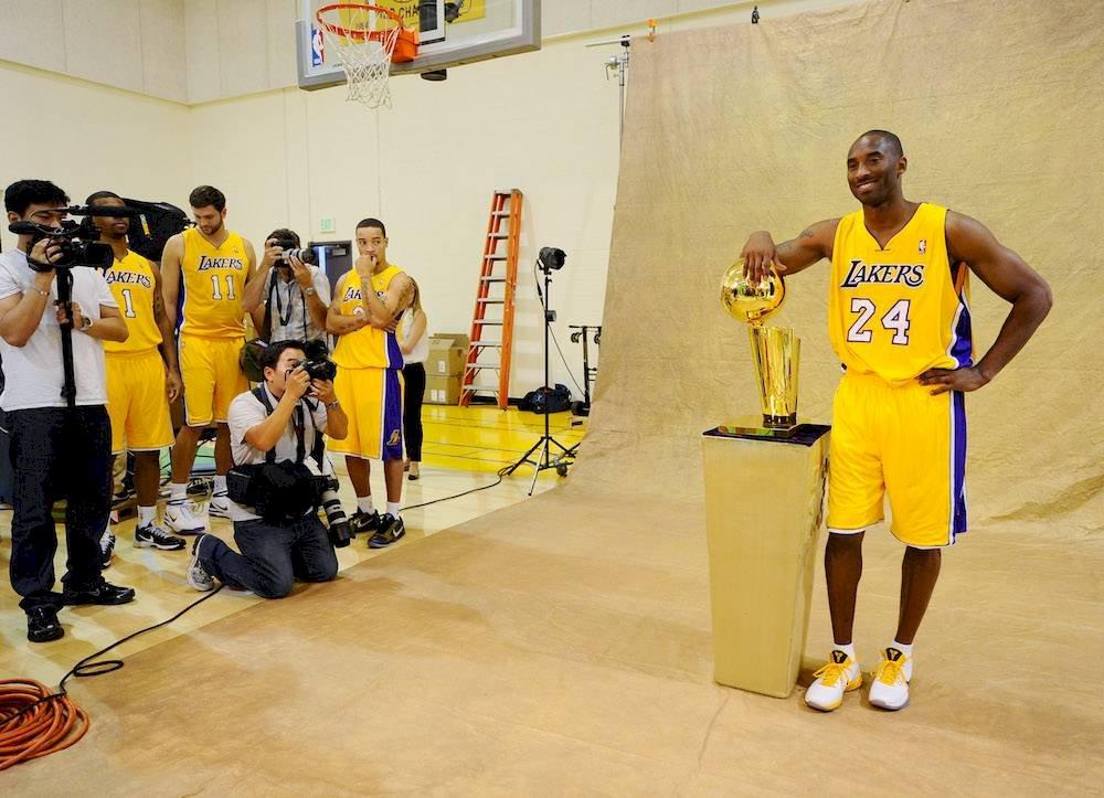 ¡Nunca te olvidaremos #KobeBryant! 🙌🏀  #MambaForever  #LakeShow #NBA  #NBATwitter  #RIP   👉