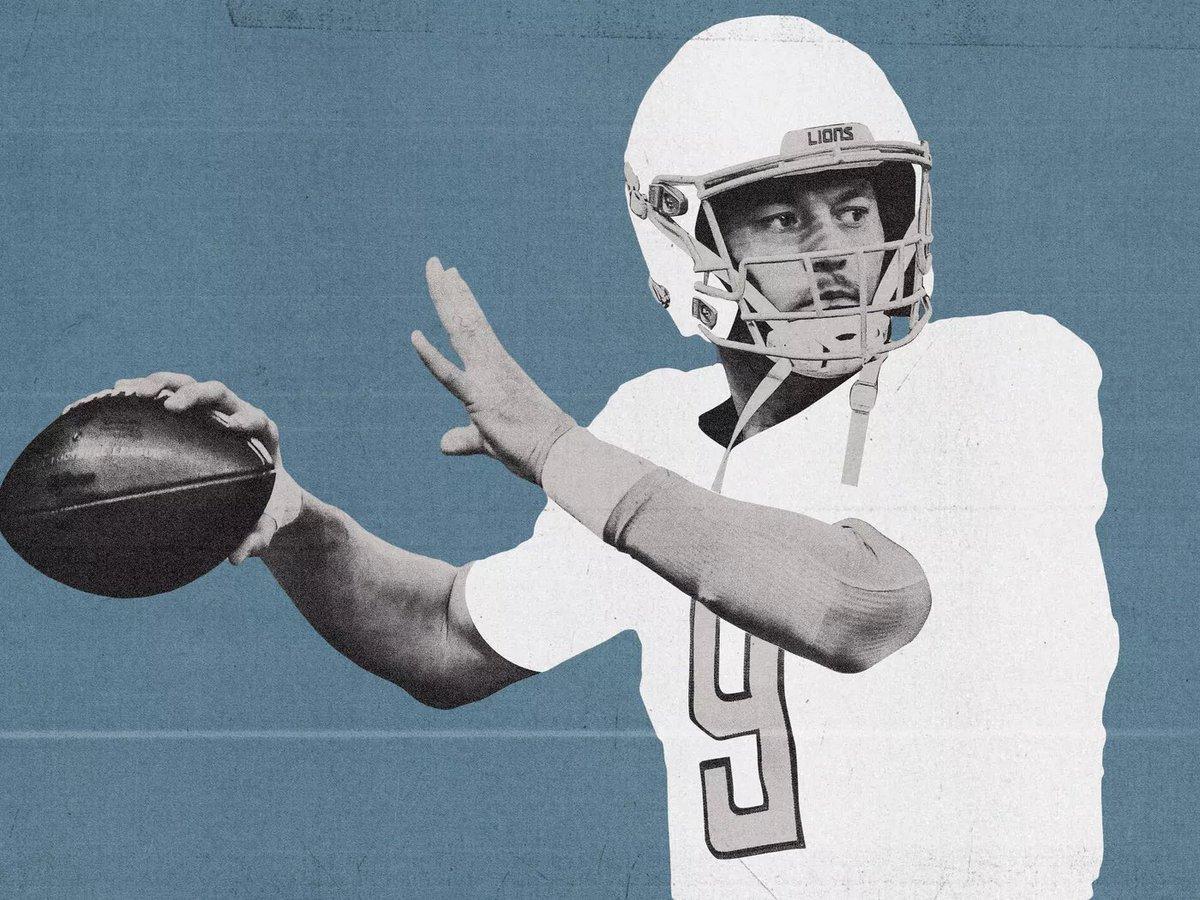 Matthew Stafford next team odds, according to @betonline_ag : #Colts - +300 #49ers - +350 #Broncos - +450 #Patriots - +500 #WashingtonFootball - +600 #Panthers - +800 https://t.co/79ZSfy2za5