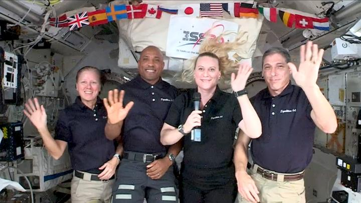 🚀 In case you missed it: During #Inauguration2021 activities last week, @NASA_Astronauts aboard the @Space_Station shared a special message in honor of this historic tradition: