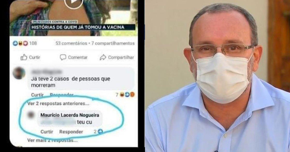 Médico fala de repercussão após fazer comentário com palavrão sobre fake news na web: 'Perdi a paciência'  #G1