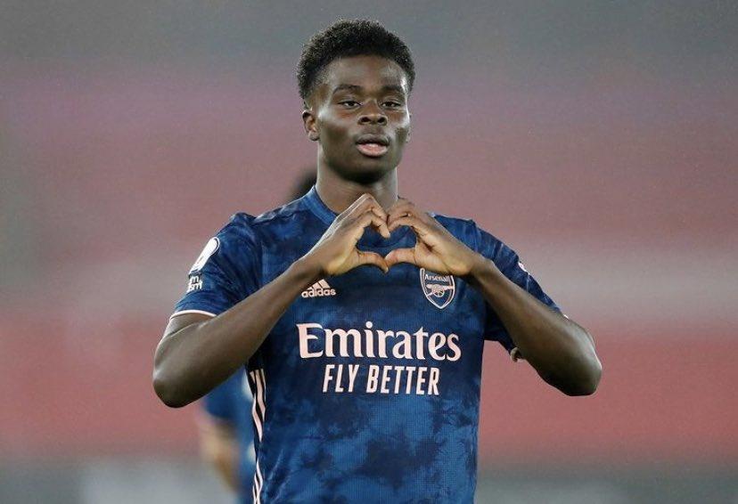 G&A🔥🌶  #Arsenal #Saka #COYG