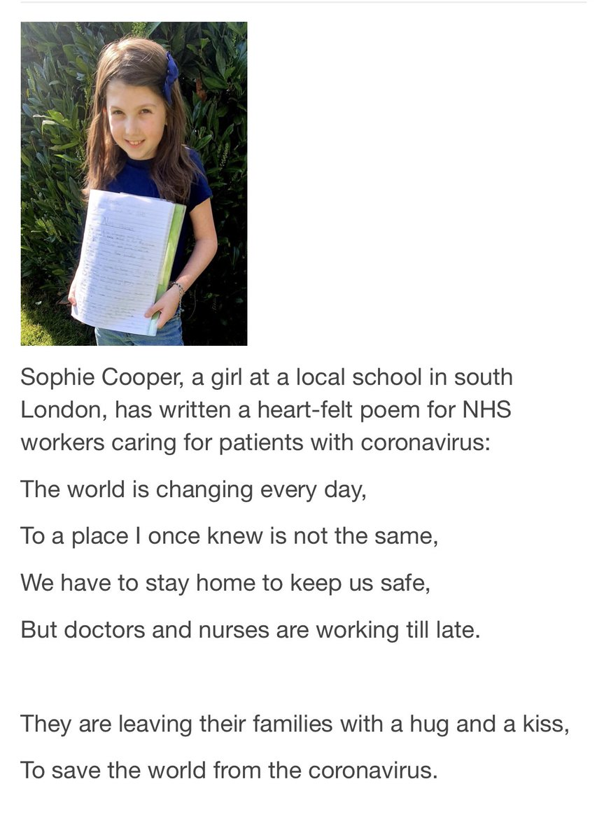 Tonight in our sadness at numbers we can't comprehend we light a candle, say a prayer and reflect on the enormity of it all 💛 While all around us our NHS heroes are facing impossible tasks 💛 Thank you to Sophie Cooper for expressing how we all feel.  🕯🙏💛 #LestWeForget