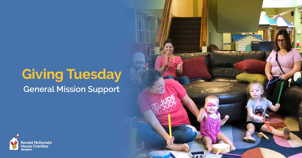 Happy #GivingTuesday! Each and every one of you makes our House a caring and supportive environment for our families — thank you! If you've been considering giving, there's no time like today. Thank you for #KeepingFamiliesClose! #forRMHC