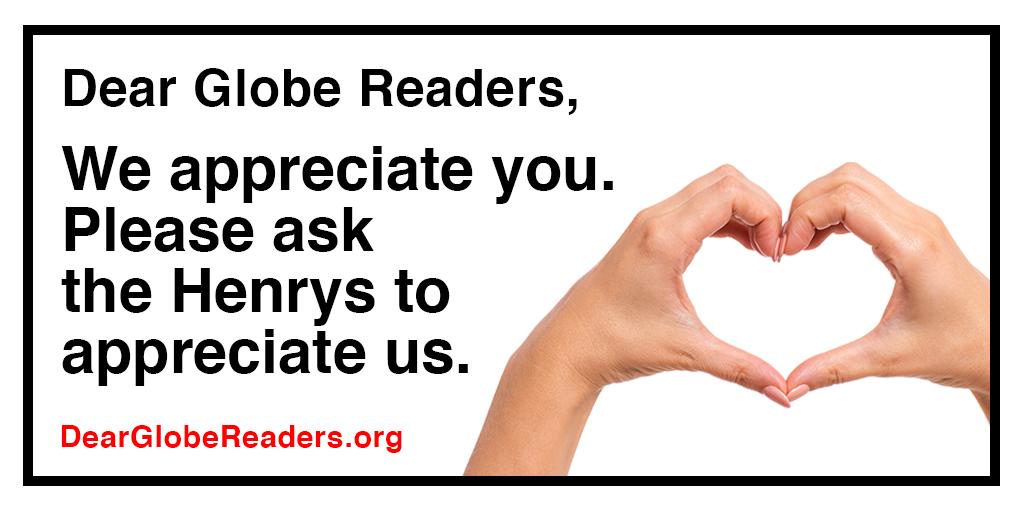 Help us save the Boston Globe  https://t.co/bE8N7X1O8v https://t.co/HQhoxJK4bL