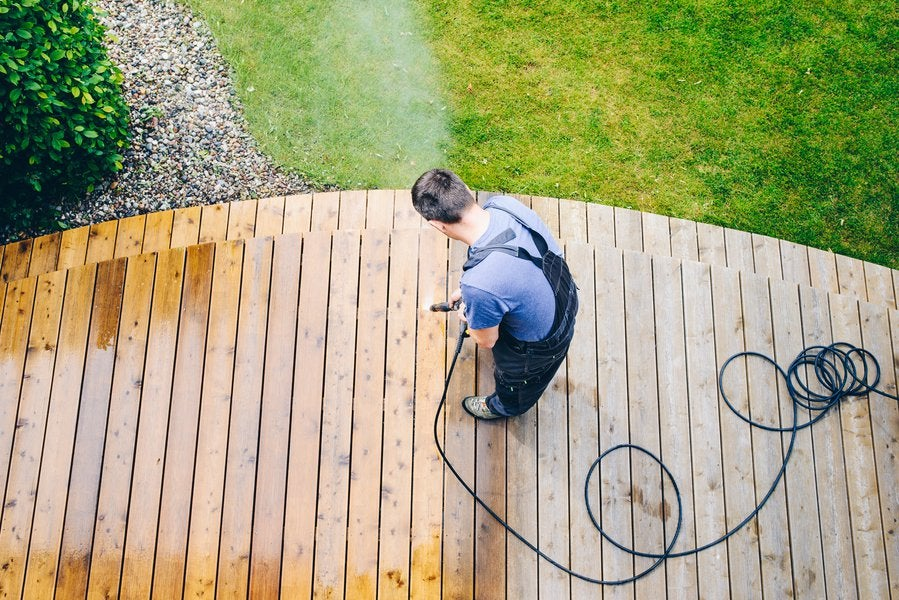 Got a wood deck in your back yard? Here are some reasons to maintain it well. #homeowners #realestate