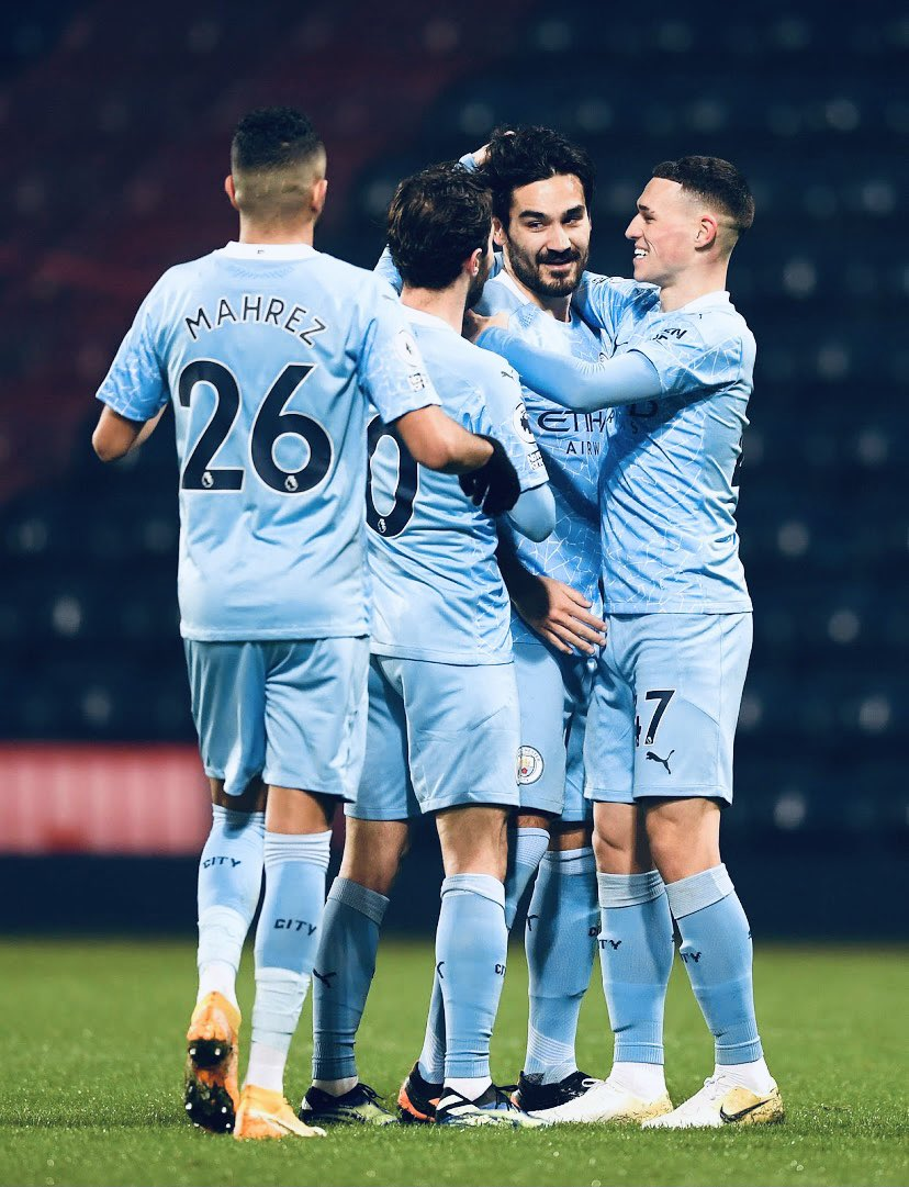 RT @PhilFoden: An honour to make my 100th appearance for my club. What a way to mark it too! 💙 https://t.co/vk81BXz9xz