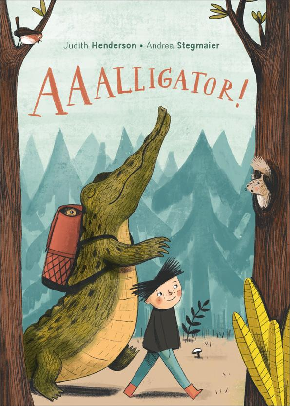Just read AAALLIGATOR! by @judithhenderson & illustrated by @andreastegmaier. If you're a teacher/librarian get this for your library. Teaches about friendship, empathy, acceptance and a community's response to injustice. TY Judith for the book!