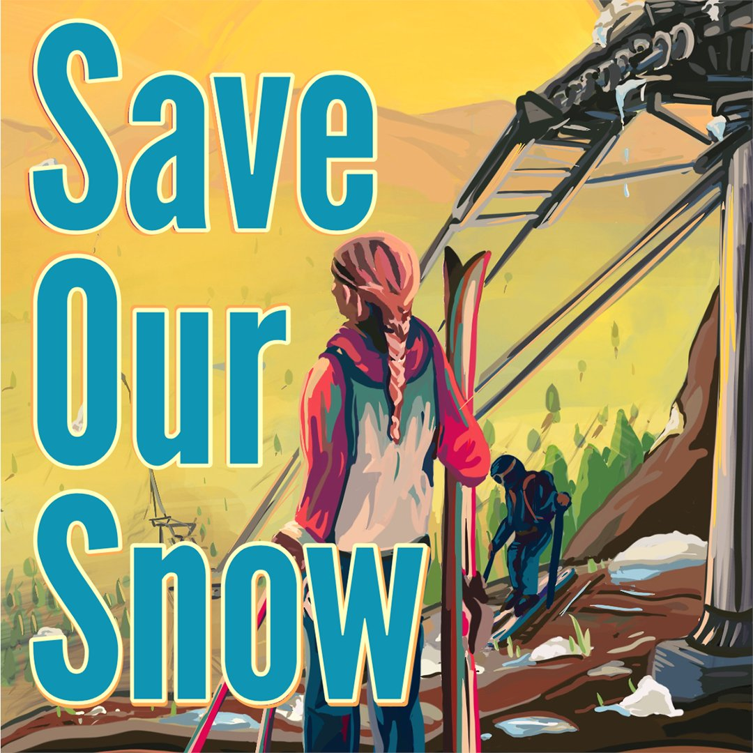 We're experiencing one of the driest winters ever recorded. 80% of our water resources come from melted snow. Projections show the entire Wasatch range losing all snowpack by 2090. Take action by telling your city council you support 100% clean energy --
