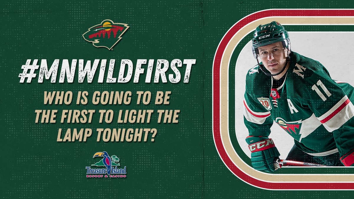 Drop those guesses! 🚨  Reply using #mnwildFirst and your guess for chance at a prize, presented by @ticasino.  One winner selected.