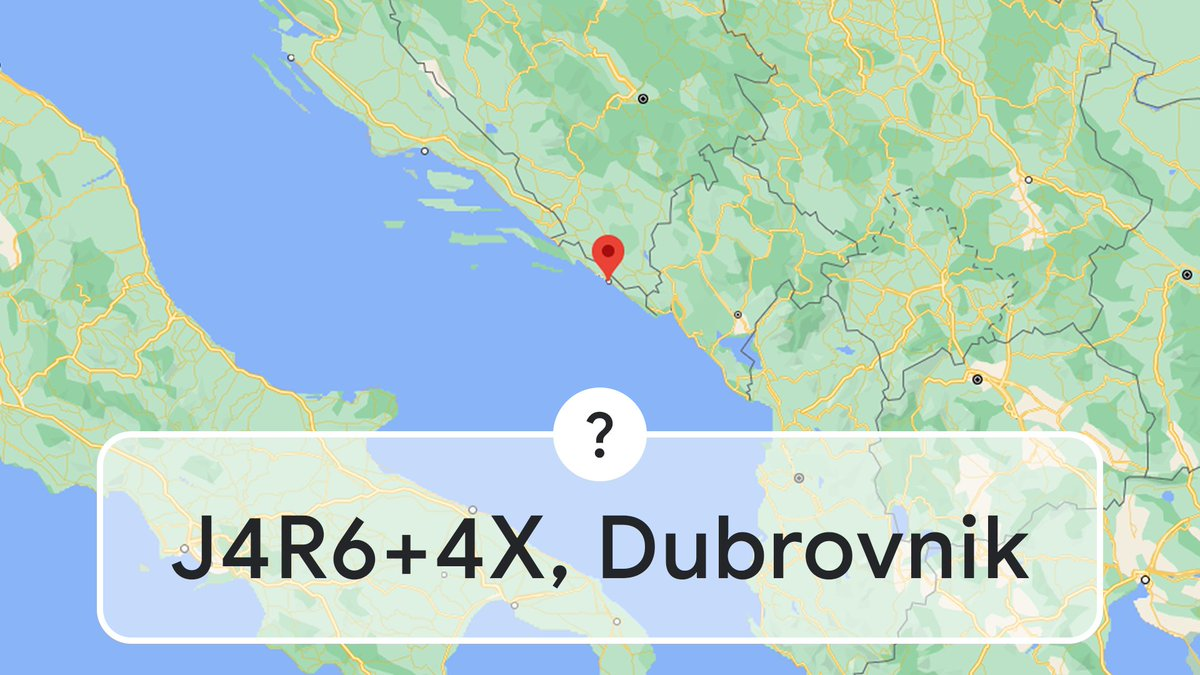 """Westeros is best known for its capital city, You can see it on Maps; we promise it's pretty. All you have to do is search this Plus Code. """"J4R6+4X, Dubrovnik"""", to Croatia you'll go."""