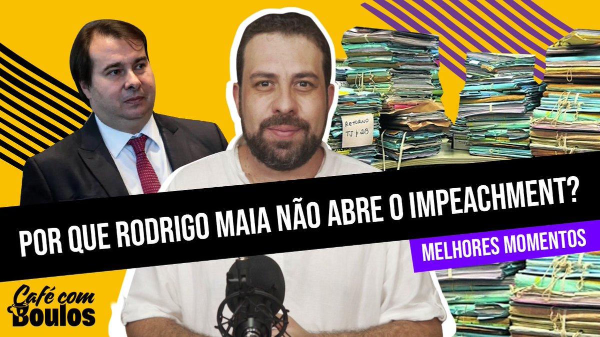 Por que Rodrigo Maia não abre o Impeachment?   Melhores Momentos #CaféComBoulos