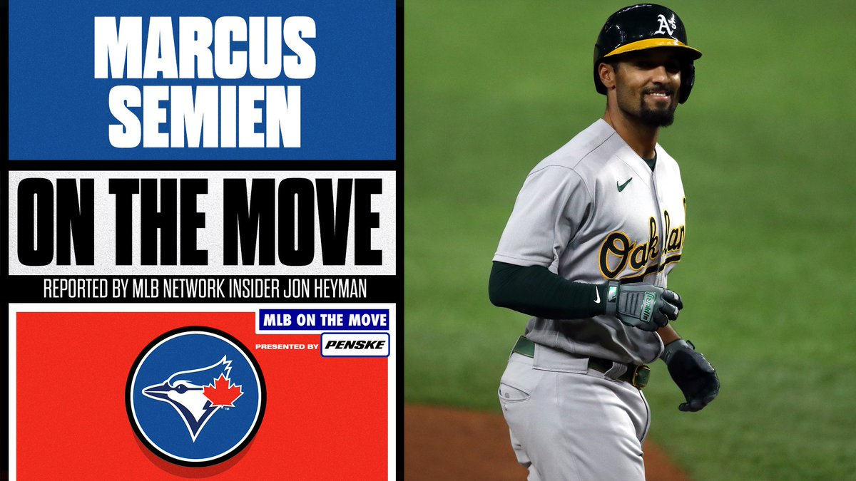 The @BlueJays add another bat.  INF Marcus Semien is reportedly heading to Toronto, per @JonHeyman.